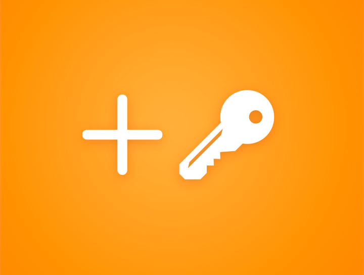 How to add a product key